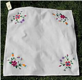 embroidered bread wrap
